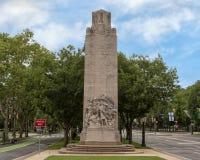 Soldats et marins de guerre civile commémoratifs par Hermon Atkins MacNeil, Benjamin Franklin Parkway, Philadelphie, Pennsylvanie photos stock