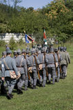 Soldats par derrière I Photo stock