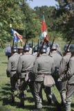 Soldats par derrière II Images stock
