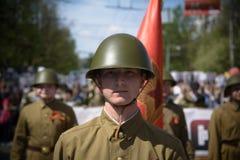 Soldats soviétiques Photographie stock libre de droits