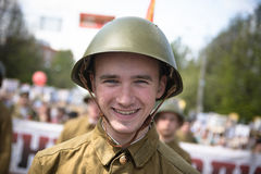 Soldats soviétiques Image libre de droits