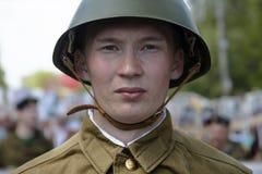 Soldats soviétiques Images stock