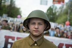 Soldats soviétiques Photo libre de droits