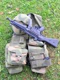 Soldatsachen Stockfoto