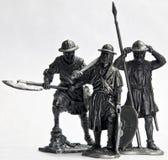 soldattin Arkivfoto