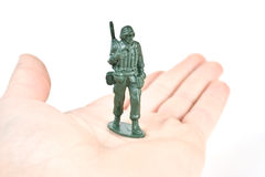 soldattoy Royaltyfri Fotografi
