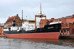 Soldek ship in Poland Stock Image