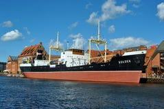 Soldekschip Gdansk Royalty-vrije Stock Afbeeldingen