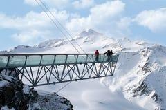 Solden Austria Fotografia Stock