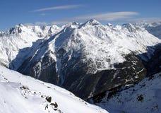 Solden: der Mountain View Lizenzfreie Stockfotos