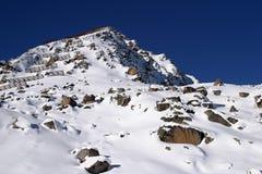 Solden: el Mountain View Fotos de archivo