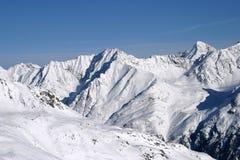 Solden: el Mountain View Foto de archivo libre de regalías