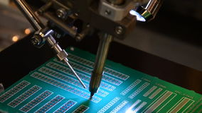 Soldered by Cyborg. stock video footage