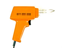Soldering gun Royalty Free Stock Photo