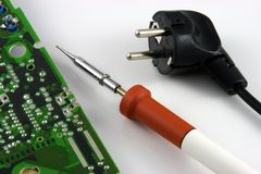 Soldering Iron Royalty Free Stock Image