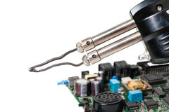 Soldering iron Stock Photography