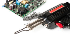 Soldering iron Stock Images