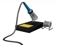 Soldering Iron Station Royalty Free Stock Photography