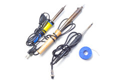 Soldering Irons Royalty Free Stock Photo