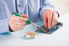 Soldering Royalty Free Stock Photos