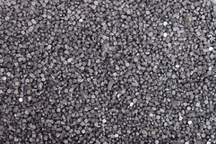 Soldering metal particles. A pile of soldering metal particles laid on flat surface Royalty Free Stock Images
