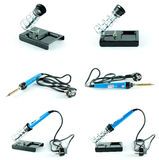 Soldering station Stock Photography