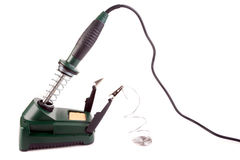 Soldering station Stock Images