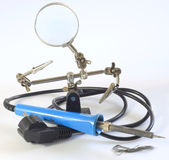 Soldering tool Royalty Free Stock Image
