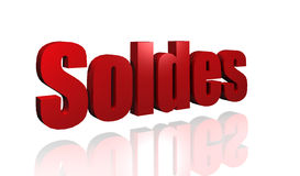 Soldes Royalty Free Stock Photos