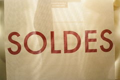 Soldes Stock Photo