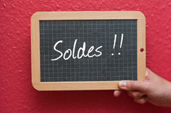 Soldes Stock Images