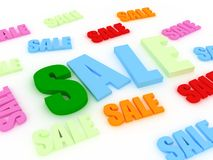 Soldes concept Stock Photography