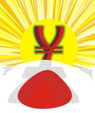 Soldi - aumentare di Yen Immagini Stock