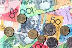 Soldi australiani immagine stock libera da diritti
