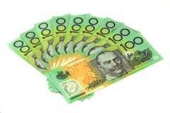 Soldi australiani Immagini Stock