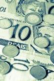 Soldi brasiliani Immagine Stock