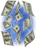 Soldi. Cento fatture Stati Uniti del dollaro. Fotografia Stock Libera da Diritti