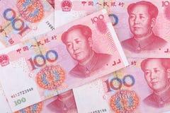 Soldi cinesi RMB Fotografie Stock