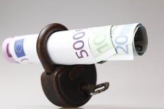 Soldi con le banconote Immagini Stock