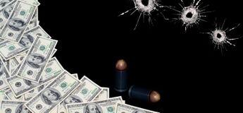 Soldi criminali Immagini Stock Libere da Diritti