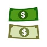 Soldi del dollaro Fotografia Stock