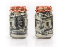 Soldi di risparmio Immagine Stock Libera da Diritti