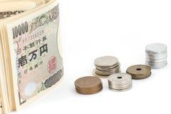Soldi di Yen giapponesi Fotografia Stock