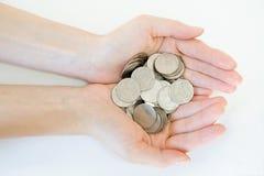Soldi e concetto di finanze Fotografia Stock