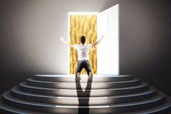 Soldi e concetto di successo Immagini Stock