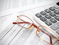 Soldi e finanza. fotografia stock