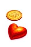 Soldi ed amore immagine stock libera da diritti