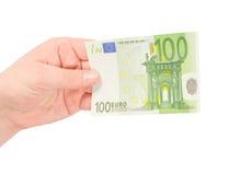 Soldi (euro) Fotografie Stock Libere da Diritti