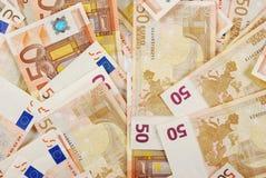 Soldi euro Fotografia Stock