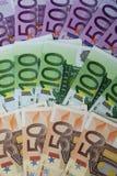 Soldi europei Immagini Stock Libere da Diritti
